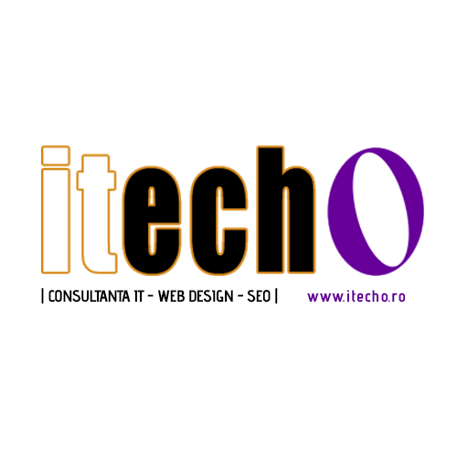 logo Itecho - web design online marketing seo reparatii calculatoare topoloveni