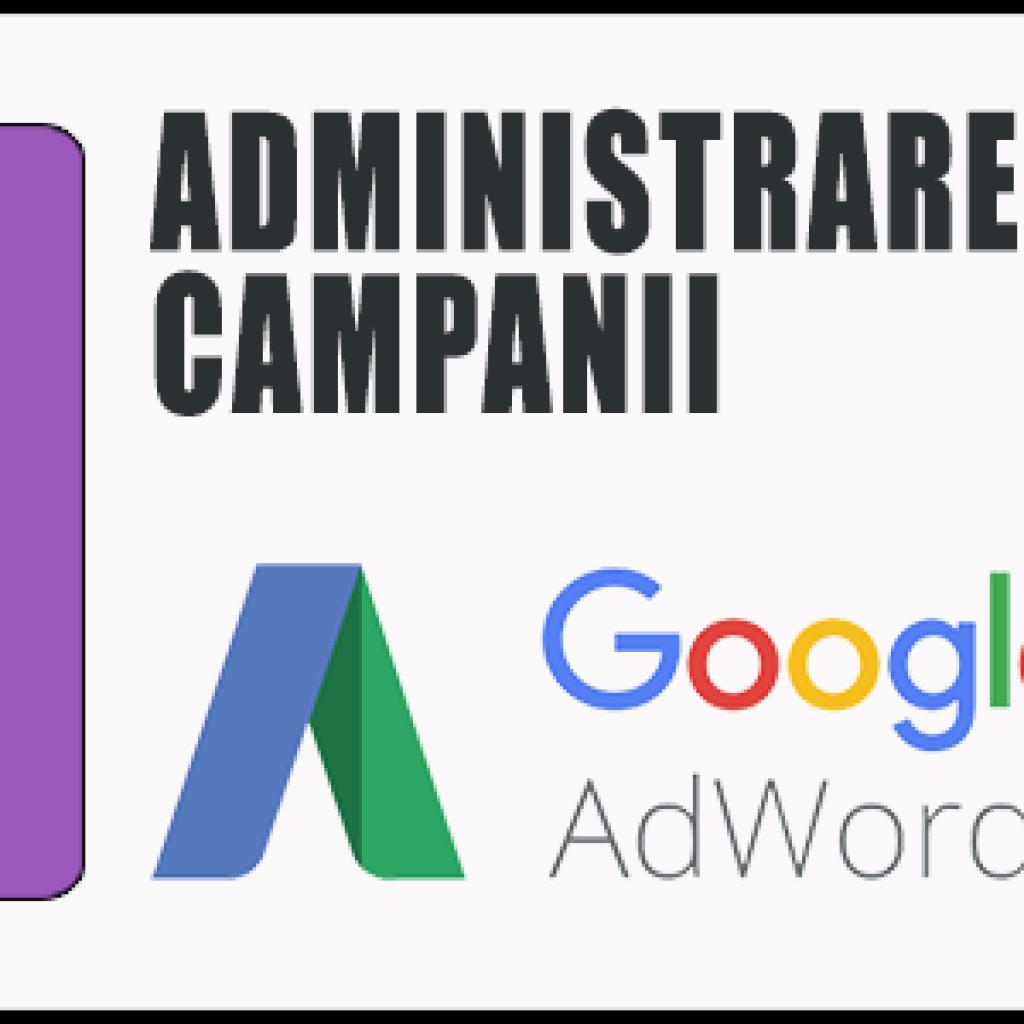 Administrare Campanie Google CPC