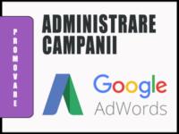 Administrarea Campaniilor AdWords