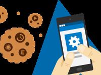 Cookie-uri folosite de cele mai multe  site-uri.